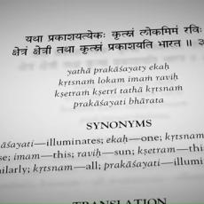 Is learning Sanskrit necessary to understand Bhagavad Gita?